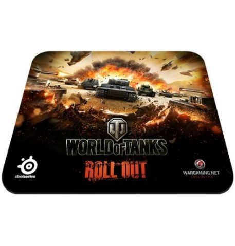 Фото №1 - STEELSERIES QcK World of Tanks Tiger Edition