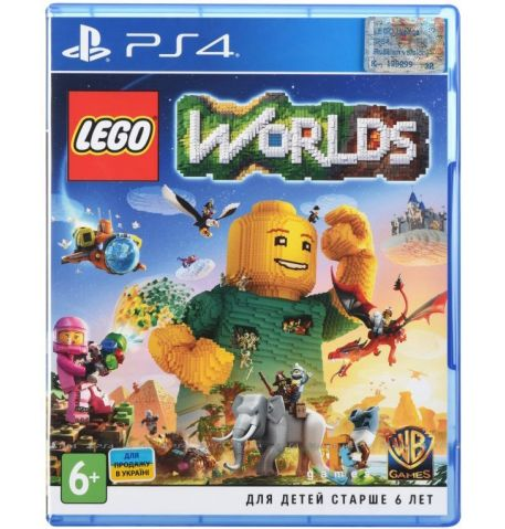Фото №1 - Lego Worlds PS4 русская версия