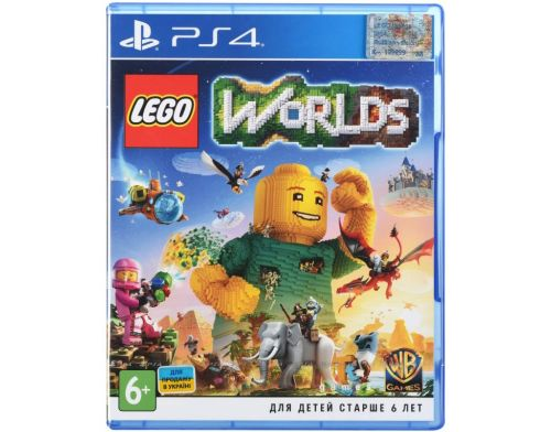 Фото №2 - Lego Worlds PS4 русская версия