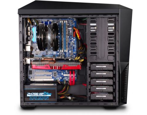 Фото №5 - Корпус ZALMAN Z9 PLUS (Black) ATX / Micro ATX, Mid Tower