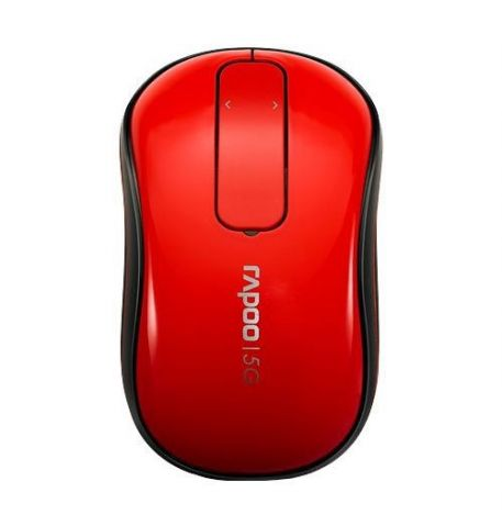 Фото №1 - RAPOO Wireless Touch Mouse red (T120p)