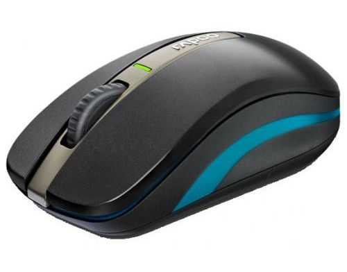 Фото №5 - RAPOO Dual-mode Optical Mouse black (6610)