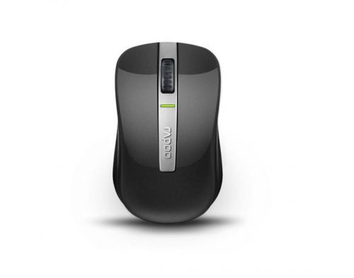 Фото №2 - RAPOO Dual-mode Optical Mouse gray (6610)