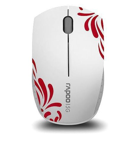 Фото №1 - RAPOO Wireless Optical Mini Mouse white (3300р)