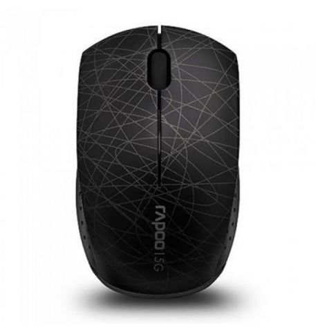 Фото №1 - RAPOO Wireless Optical Mini Mouse black (3300р)