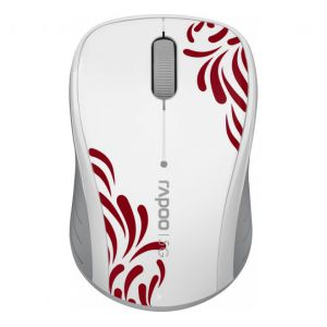 RAPOO Wireless Optical Mouse white (3100р)