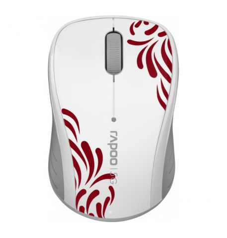 Фото №1 - RAPOO Wireless Optical Mouse white (3100р)