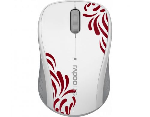 Фото №2 - RAPOO Wireless Optical Mouse white (3100р)