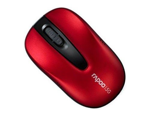 Фото №4 - RAPOO Optical Wireless Mouse red (1070р Lite)