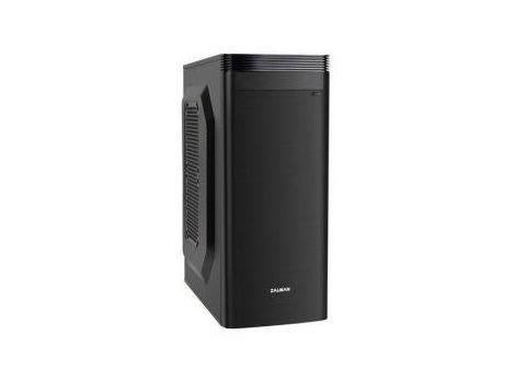 Фото №1 - Корпус ZALMAN ZM-T1 Plus (Black) mATX/Mini ITX/Mini Tower