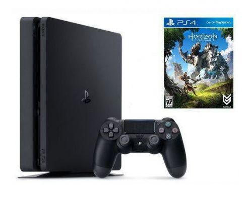 Фото №2 - Sony PlayStation 4 SLIM 500gb + Игра Horizon Zero Dawn (Гарантия 18 месяцев)
