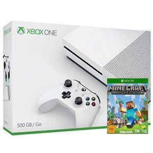 Xbox ONE S 500Gb + Игра Minecraft + Favourites Pack + Builders Pack