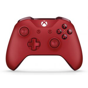 Microsoft Official Xbox ONE S Wireless Controller Red