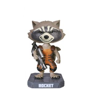Wacky Wobbler: Guardians O/T Galaxy: Rocket Raccoon Flocked