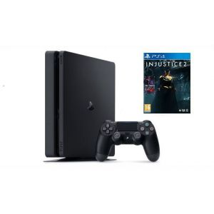 Sony PlayStation 4 SLIM 500gb + Игра Injustice 2 (Гарантия 18 месяцев)