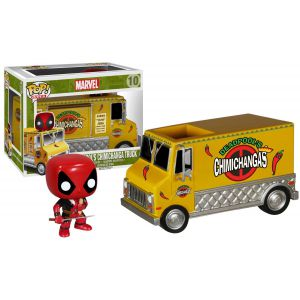 POP! Rides: Marvel: Deadpool's Chimichanga Truck