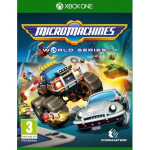 Micro Machines World Series Xbox ONE английская версия