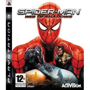 Spider man web of shadows ps3 б/у