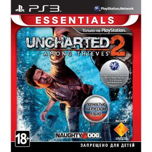 Uncharted 2: Among Thieves русский язык PS3 б/у