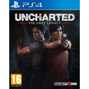 Uncharted: The Lost Legacy PS4 русская версия