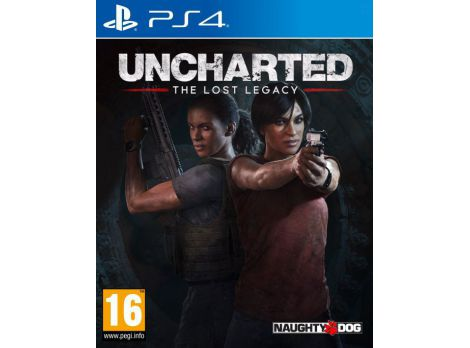 Фото №1 - Uncharted: The Lost Legacy PS4 русская версия