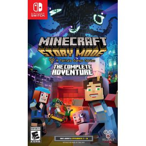 Minecraft: Story Mode The Complete Adventure (Switch)