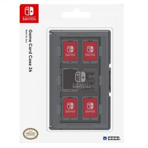 Hori Game Card Case 24 for Nintendo Switch (Black)