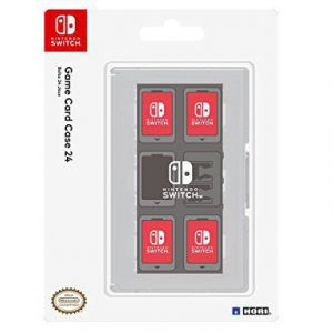 Hori Game Card Case 24 for Nintendo Switch (Clear)