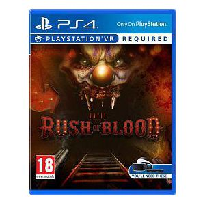 Until Dawn: Rush Of Blood VR PS4 (Б.У)