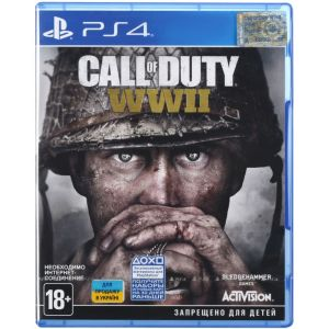 Call of Duty: WWII PS4 русская версия