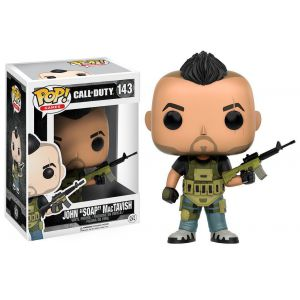 POP! Vinyl: Games: Call of Duty: John 'Soap' MacTavish