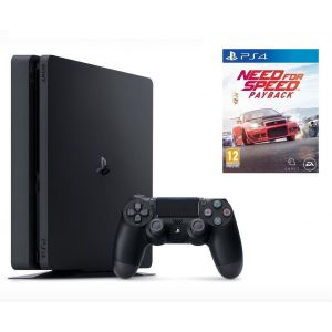 Sony PlayStation 4 SLIM 1 Tb + Игра Need For Speed Payback (Гарантия 18 месяцев)