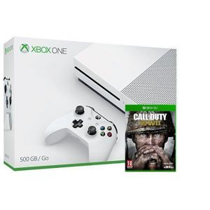 Xbox ONE S 500Gb + Игра Call of Duty: WWII