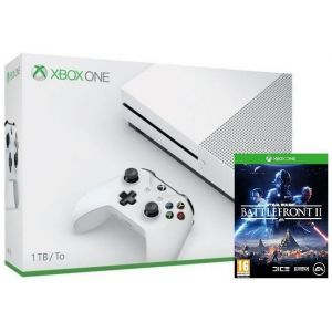 Xbox ONE S 1TB + Игра Star Wars: Battlefront II (Гарантия 24 месяца)