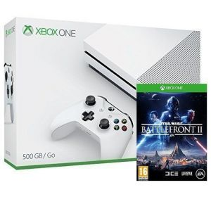 Xbox ONE S 500GB + Игра Star Wars: Battlefront II (Гарантия 18 месяцев)