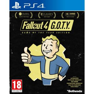 Fallout 4 Game Of The Year Edition PS4 русские субтитры
