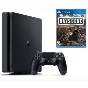 Sony PlayStation 4 SLIM 500GB + Игра Days Gone (Гарантия 18 месяцев)