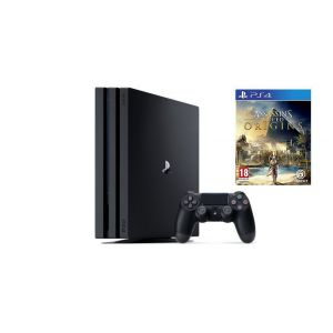Sony Playstation 4 Pro 1000gb + Игра Assassin's Creed Origins