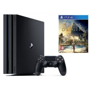 Sony PlayStation 4 PRO 1 Tb + Игра Assassin's Creed Origins (Гарантия 18 месяцев)