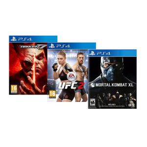 Fight Bundle Tekken7 + UFC2 + Mortal Kombat xl