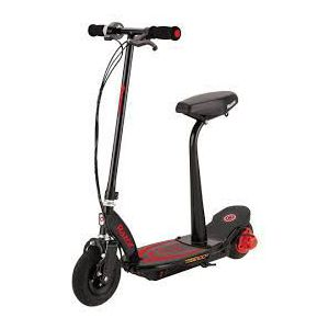 Razor Power Core E100S with Seat Red