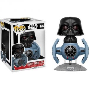 POP! Deluxe: Star Wars: Tie Fighter w/ Darth Vader (Exc)