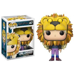 POP! Vinyl: Harry Potter: Luna Lovegood w/ Lion Head