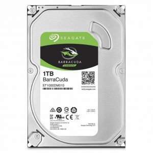 Жесткий диск HDD int. 3,5 1TB Seagate Barracuda 6Gb/s 7200rpm