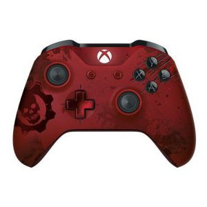 Xbox ONE S Wireless Controller Gears of War 4 Crimson Omen Limited Edition (Б.У)