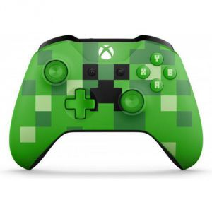 Microsoft Xbox One S Wireless Controller Minecraft Creeper (Лимитированное издание)