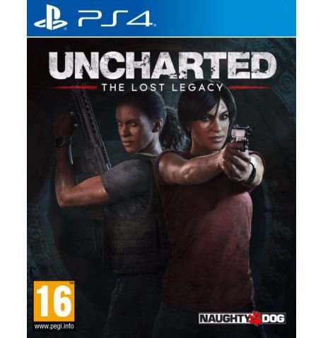 Фото №1 - Uncharted: The Lost Legacy PS4 русская версия (бу)