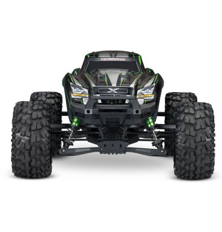 Фото №1 - Автомобиль Traxxas X-Maxx Brushless Monster 8S 1:5 RTR 779 мм 4WD TSM 2,4 ГГц (77086-4 Blue)