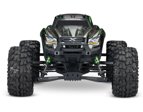 Фото №2 - Автомобиль Traxxas X-Maxx Brushless Monster 8S 1:5 RTR 779 мм 4WD TSM 2,4 ГГц (77086-4 Blue)