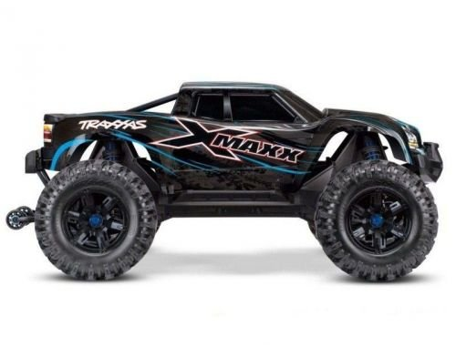 Фото №3 - Автомобиль Traxxas X-Maxx Brushless Monster 8S 1:5 RTR 779 мм 4WD TSM 2,4 ГГц (77086-4 Blue)